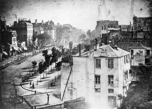 Boulevard du Temple, Paris - Louis Daguerre (1839)
